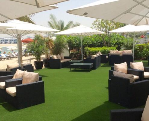 Artificial Grass For Hotels & Restaurants