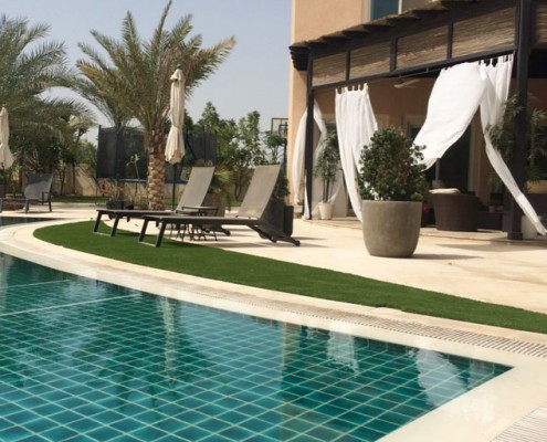 Artificial Grass For Swimming Pools
