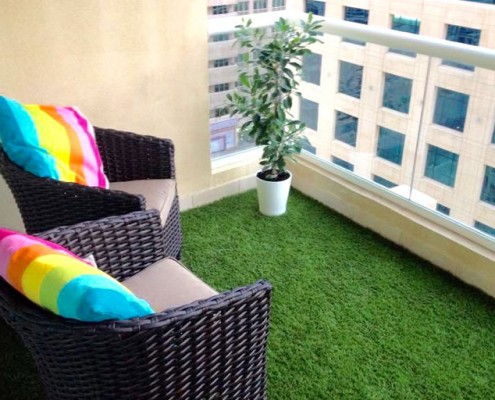 Artificial Grass For Terraces & Balconies