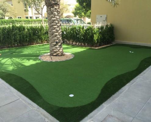 artificial grass for golf Dubai UAE