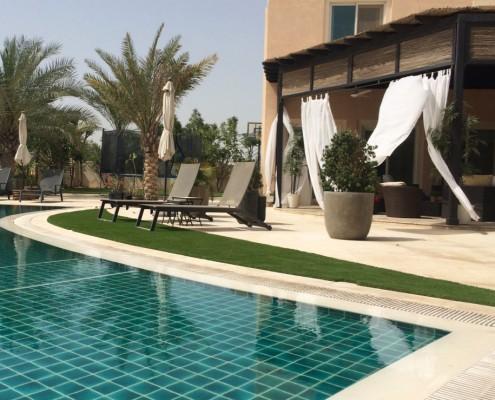 artificial grass for swimming pools Dubai UAE