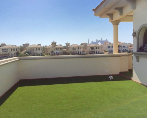 artificial grass for terrace balconies Dubai UAE