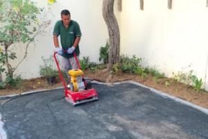 artificial lawn installation process in UAE