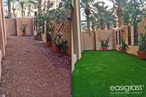 Save money with fake grass