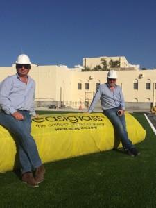 Synthetic sports grass installation team Dubai