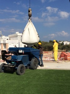 artificial grass installation for sports