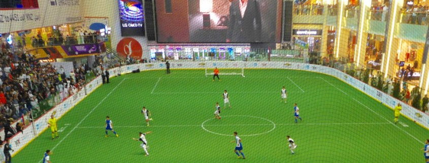 artificial grass for sports Dubai Mall UAE