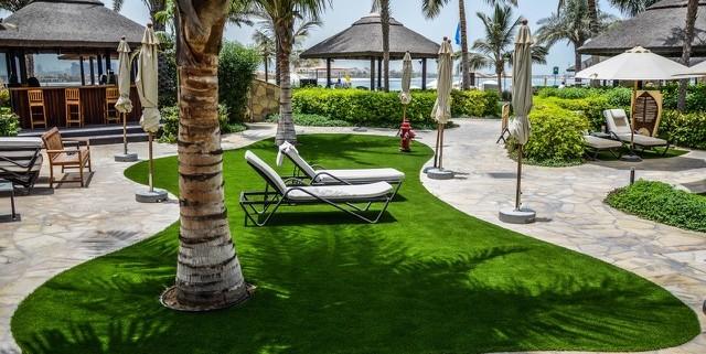 Synthetic Grass Installer, Dubai Sofitel, The Palm