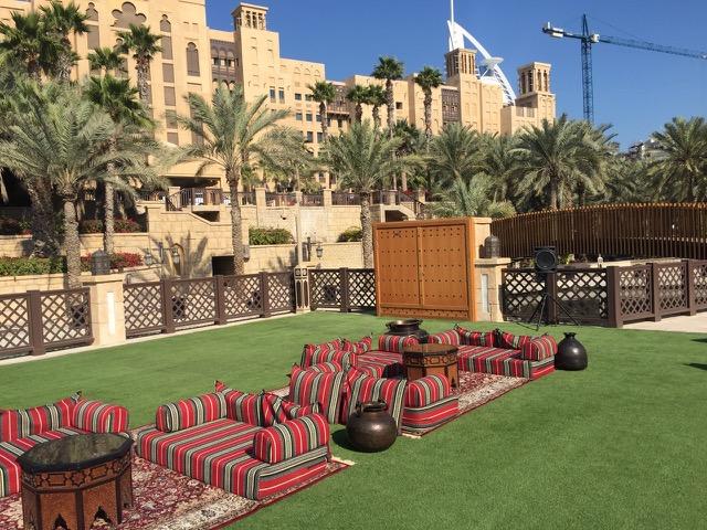 Madinat Jumeirah Fake Grass Installation