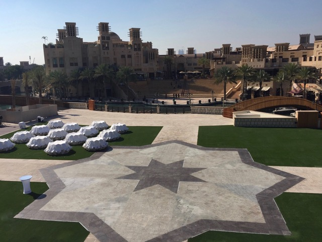 Madinat Jumeirah Fake Turf Installation