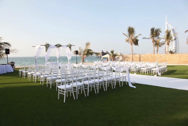 Artificial Turf Dubai, Installation at the Al Qsar Hotel