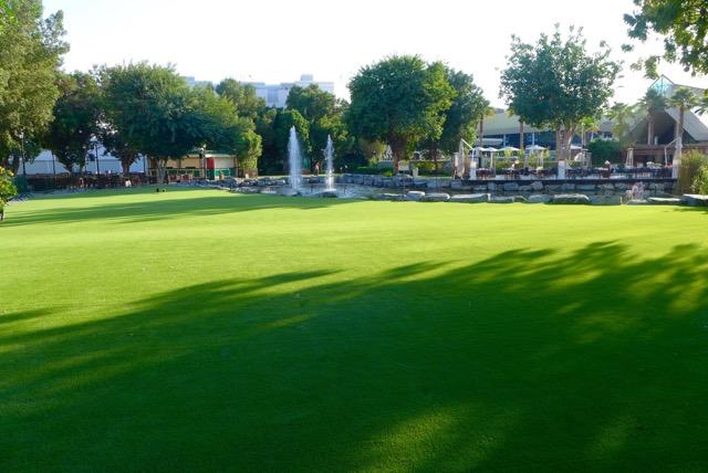 Irish Village Artificial Grass Installed in Dubai