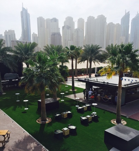 Zero Gravity Fake Turf Dubai Marina