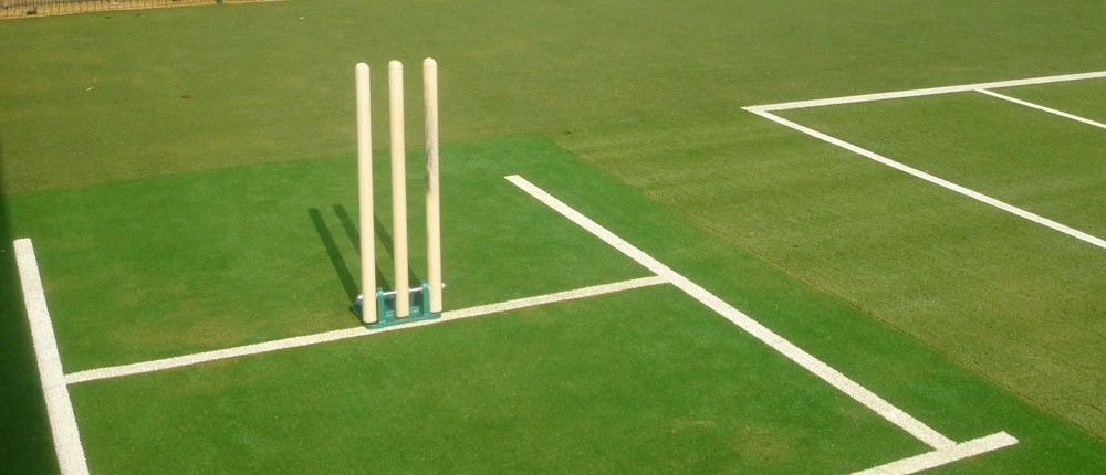 artificial grass installation for cricket pitches