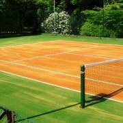 Fake Tennis Courts