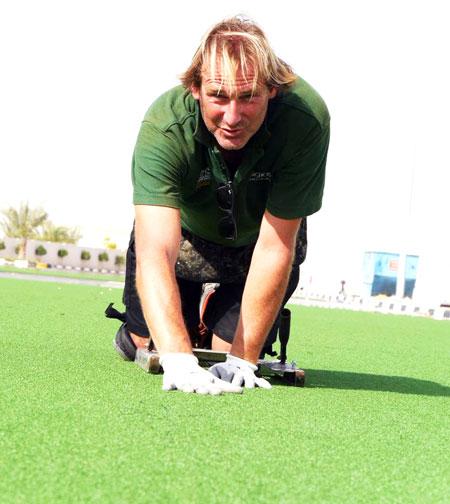 football field repair services