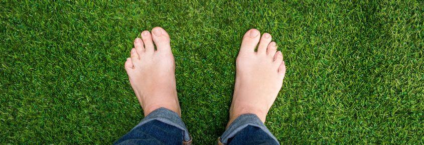 artificial lawn installation in Dubai