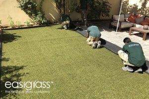 installing artificial grass step 13