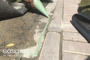 installing artificial grass step 16