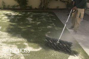 installing artificial grass step 17