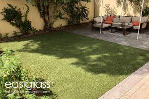 19th artificial grass installation step