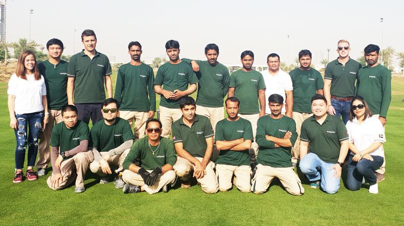 Easigrass team In Dubai, UAE
